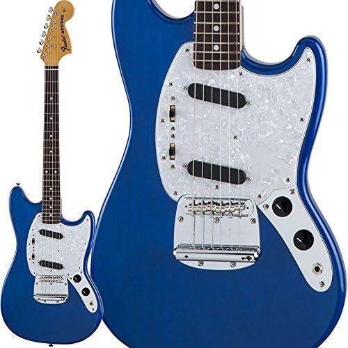 Fender tradicional 70s Mustang (Sapphire azul Trans) [fabricado en ...