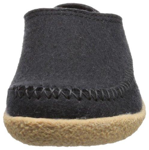 Haflinger Unisexe Blizzard Credo - Noir 03 (noir) Pantoufles Mens Noir