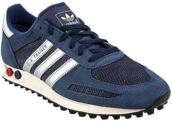 Adidas Original LA Trainer Herren Schuhe (47 13, Weiß Rot
