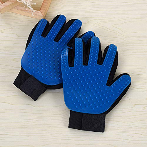 Kirsches Pet Grooming Glove Hair Remover Brush for Long&Short Fur Gentle Shedding Massage Tool Dog/Cat/Horse One Pair by Kirsches (Image #3)