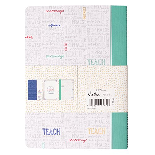 Great Teacher Notebook Set, Soft Cover, Pack of 3