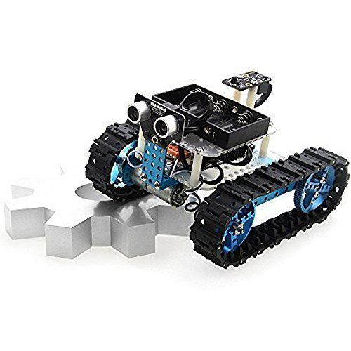 Makeblock DIY Starter Robot kit - Premium Quality - STEM Education - Arduino - Scratch 2.0 - Programmable Robot Kit for Kids to Learn Coding, Robotics and Electronics (IR Version) by Makeblock (Image #3)