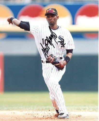 Alexei Ramirez Signed Photo - 8x10 Coa - Autographed MLB Photos