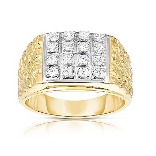 Noray Designs 14K Gold Diamond (0.50 Ct, I1-I2 Clarity, G-H Color) Men's Ring by Noray Designs