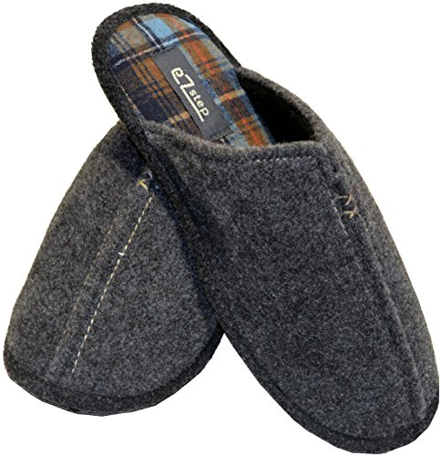 Ezstep Mens Benjamin Slipper Grey