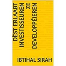 Dëst erlaabt Investisseuren ze developpéieren (Luxembourgish Edition)