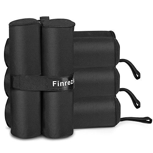 Finrezio Canopy Weight Bags for Tent Instant Legs,4-Pack,40L
