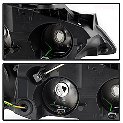 ACANII - For 2005-2010 Pontiac G6 Headlights Headlamps Replacement 05-10 Pair Set Driver + Passenger Side: Automotive