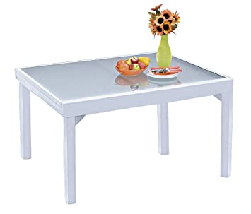 Table de jardin extensible Modulo 6 à 10 personnes: Amazon.fr ...
