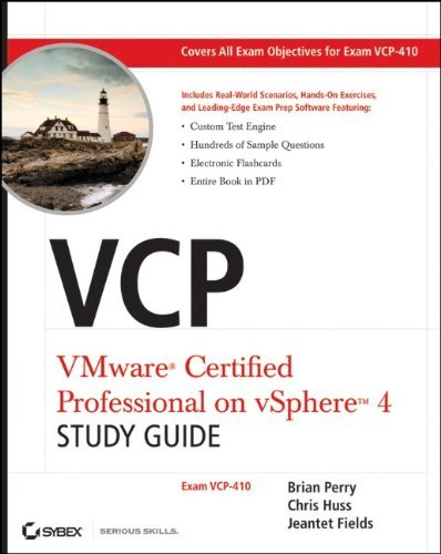 VCP VMware Certified Professional on vSphere 4 Study Guide: Exam VCP-410 by Brian Perry (2010-08-09)