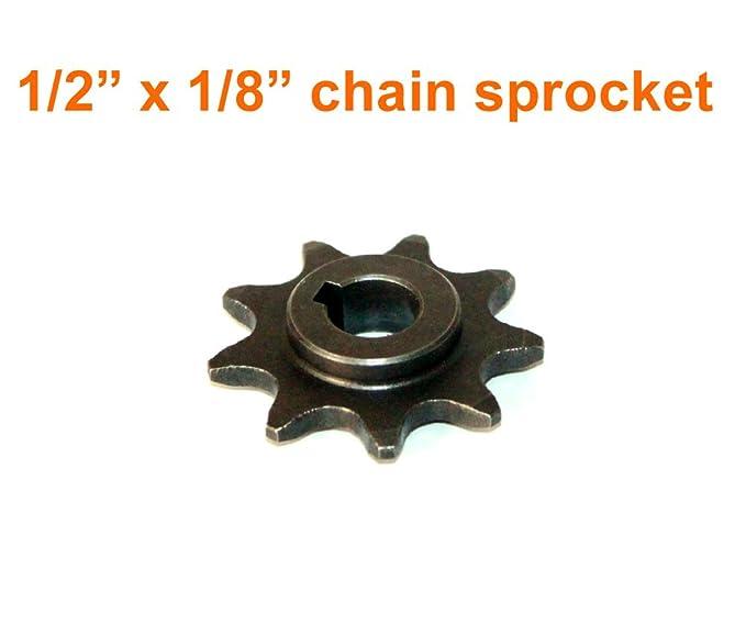 Amazon.com: 9 diente rueda dentada para Bici electrica Motor ...