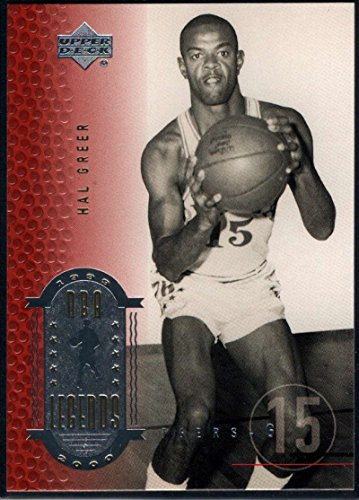 Basketball NBA 1999-00 Upper Deck Legends #11 Hal Greer NM-MT 76ers