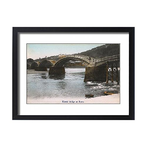 - Framed 24x18 Print of Kintai Bridge, Japan (14405327)