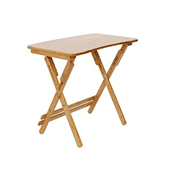 XUERUI Plegable Mesa Ajustable Plegable Portátil Bambú Aprender Bocadillo Ordenador Portátil Escritorio (Tamaño : T3): Amazon.es: Electrónica
