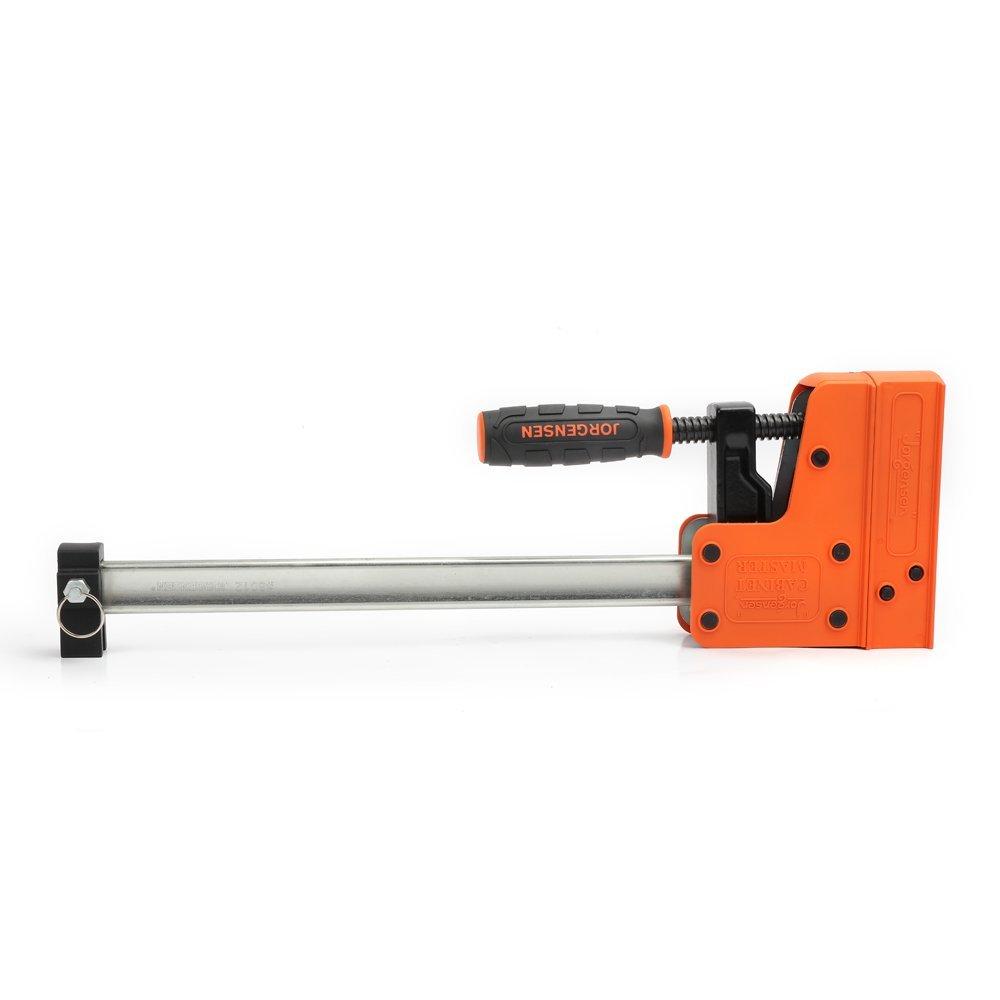 JORGENSEN 8024 Cabinet Master 24 Inch 90 Degree Parallel Steel Bar Clamp