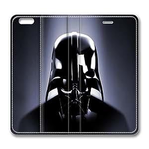 iPhone 6 plus Case, 6 plus Case - Folio Flip Wallet Case Leather Bumper for iPhone 6 plus Star Wars Luxury Leather Ultra Slim Fit Case for iPhone 6 plus 5.5 Inches
