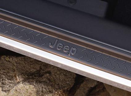 Amazon Jeep Wrangler 2007 2016 4 Door Black Plastic Door Sill