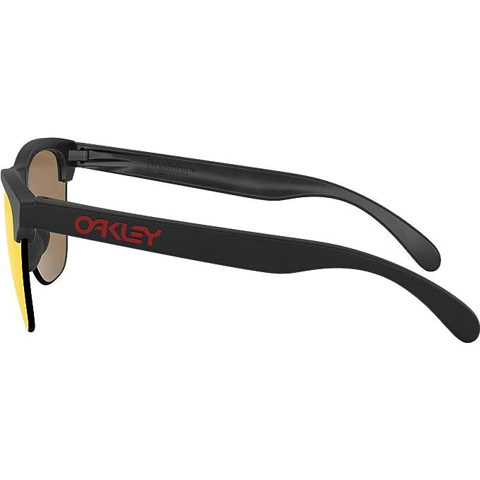 b8c14aa753 Oakley Frogskins Lite 937404 Montures de lunettes, Noir (Matte Black), 63  Homme: Amazon.fr: Vêtements et accessoires