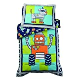 KidKraft Robot Toddler Bedding