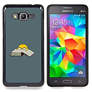 "Qstar Arte & diseño plástico duro Fundas Cover Cubre Hard Case Cover para Samsung Galaxy Grand Prime G530H / DS (Aventura perro T1Me"")"