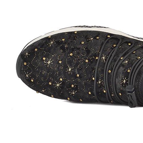 Zapatillas Negro Zapatos Misstic Mujer Ash Negro 7z8qUnUw