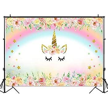 amazoncom laeacco cute unicorn background 5x5ft vinyl