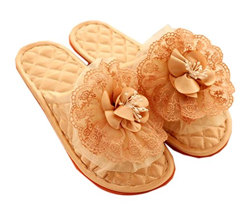 Fashion Azalea Single Home Rice Flower Shallow Cloth Blancho Slippers Color q04IZpp
