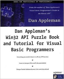 Dan Appleman's Win32 API Puzzle Book and Tutorial for Visual Basic