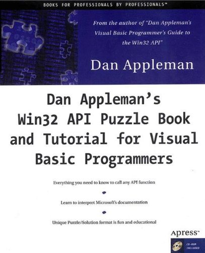 Dan Appleman's Win32 API Puzzle Book and Tutorial for Visual Basic Programmers by Apress