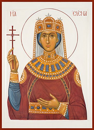 St. Elena Traditional Panel Russian Orthodox icon by Orthodox Christian Supply