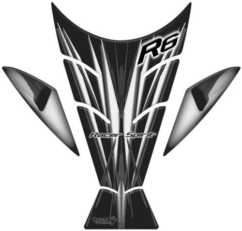 Rascal Grafik X-ak Tank Pad - Black/Gray RA36068 (Tank Rascal Grafik Pad)