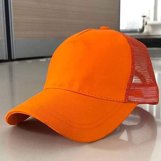 woyaochudan Sombrero de Mujer Cola de Caballo Gorra de béisbol ...