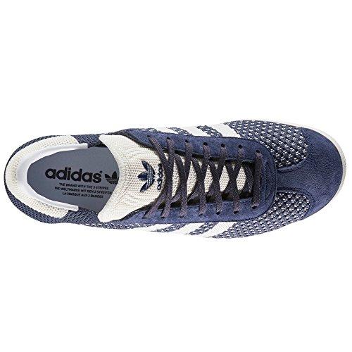 adidas Gazelle Herren Sneaker. Schuhe Low-Top (Primeknit) blau/violett