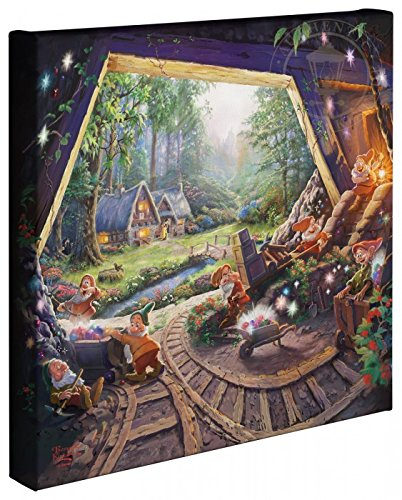 Thomas Kinkade -now White and the Seven Dwarfs