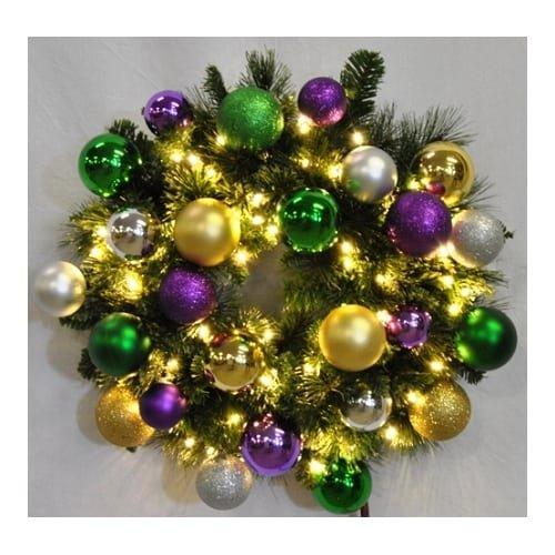 Christmas at Winterland WL-GWSQ-06-MARDI-LWW 6 Foot Pre-Lit Warm White Sequoia W, Warm White -