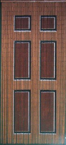 Amazon.com: Wooden Door Beaded Curtain 125 Strands (+hanging Hardware):  Home U0026 Kitchen