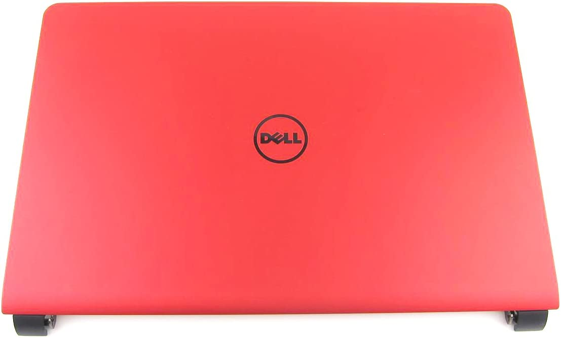 """Dell Inspiron 15 7557/7559 Red 15.6"""" LCD Back Cover Lid With Hinges - F86J6 0F86J6"""