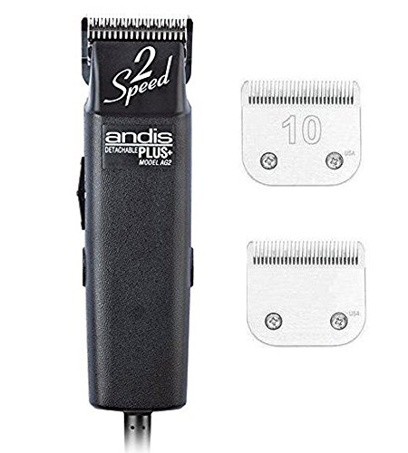 andis-proclip-ag2-2-speed-detachable-blade-clipper-professional-animal-grooming-ag-2-22215-plus-an-e