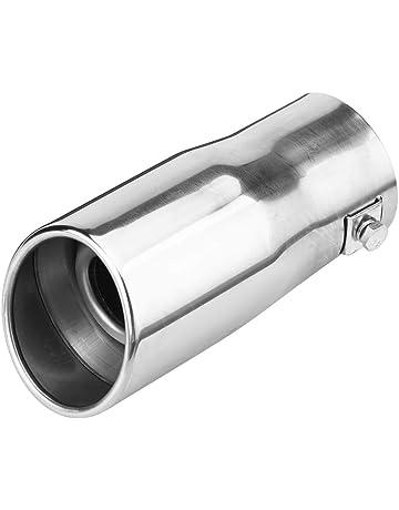 KIMISS universal Tubo de escape de cola para automóvil 30-51 mm Tubo de cola