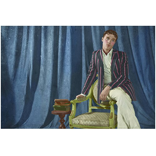 - American Horror Story Freak Show Finn Wittrock as Dandy Mott Posing on Chair 8 x 10 Photo