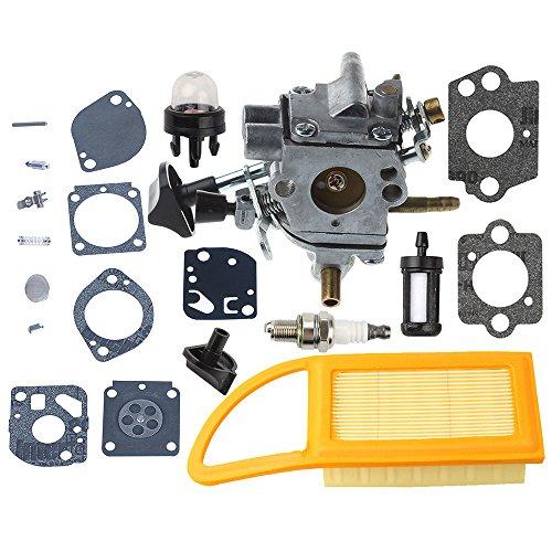 C1Q-S183 Carburetor with Air Fuel Filter for Stihl BR500 BR550 BR600 Backpack Blowers BR 500 BR 550 BR 600 Leaf Blower C1Q-S184 4282-120-0606 4282-120-0607 4282-120-0608 (Br 600 Carburetor)