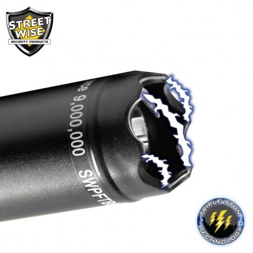 Police Force 9,000,000 Tactical Stun Stick Flashlight by Streetwise Products