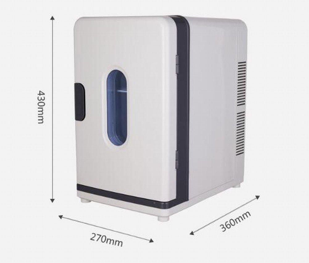 Amazon.com: Refrigerador Del Coche Refrigerador Doble 18L Refrigerador Mini Congelado Pequeño Refrigerador Casero Del Refrigerador Del Refrigerador de Los ...