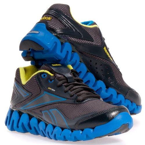 Reebok Zigactivate GS Running Shoe Athletic Gravel Blue Sun (Kids) - 7 -  Buy Online in UAE.  90e34507e