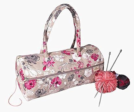 Bolsa para Labores con Rosas Rosas: Amazon.es: Hogar
