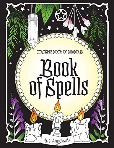 Pdf Crafts Coloring Book of Shadows: Book of Spells