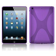 Cadorabo – Silicone Case X-LINE SLIM-FLEX for Apple iPad MINI – Etui Cover Protection Bumper Skin in PASTEL-PURPLE