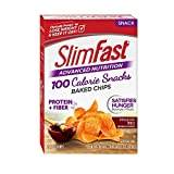 Cheap SlimFast Advanced Nutrition 100 Calorie Snacks, Baked Crisps, Mesquite BBQ, 5 Count