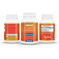 Dr. Jennifer Daniels' Vitality Capsules (Orange Bottle - Extra Strength)(1 bottle containing 90 pills)