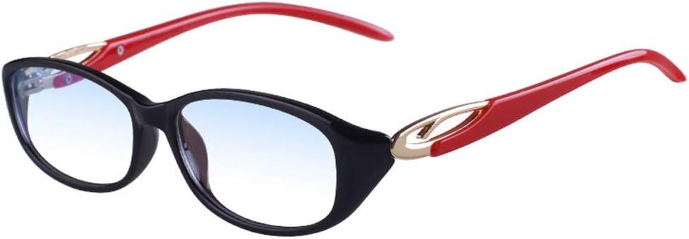Gafas de Lectura con Zoom Inteligente TR90 Progresivo Multifoco Lejos y Cerca Uso Dual +1.5 (Color : Red, Size : 350 Degrees)